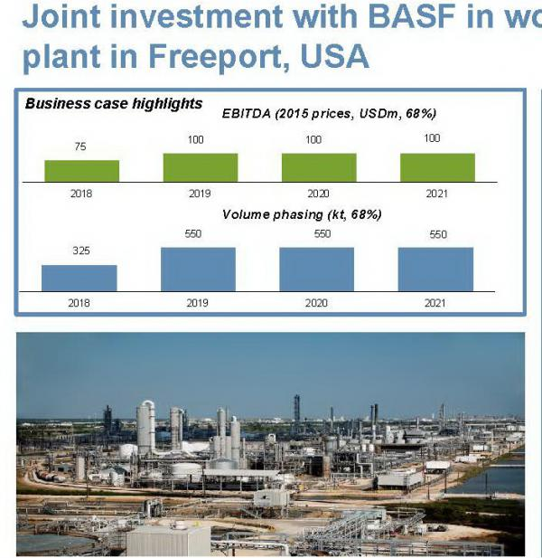 Yara and BASF open world-scale ammonia plant in Freeport, Texas, by chemwinfo